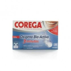 Corega Organic Active Oxygen 66 Tablets