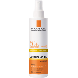 the Roche Posay Anthelios xl Spray 50+ 200Ml