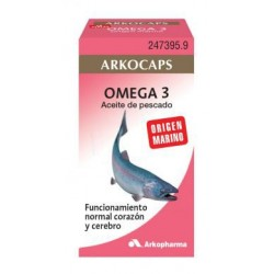 Arkofluido Aceite Pescado 50 Capsulas