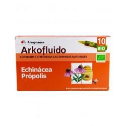 Arkofluid Echinacea + Propolis 10 Ampoules à boire 15 ml