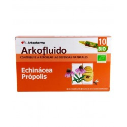 Arkofluid Echinacea + Propolis 10 Drinkable Ampoules 15 ml