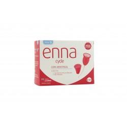 Enna 2 Menstruationsbecher + Größe S Sterilisator
