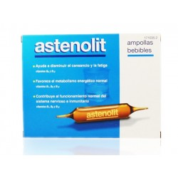 Asthenolit 12 Drinkable Ampoules 10 ml