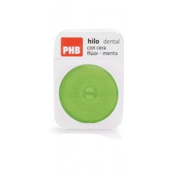 Phb Dental Floss Ptfe Fluor and Mint 50 m