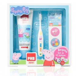 Phb Pack Peppa Children's Toothpaste Gel Pig 75 ml + Brush  + Gift