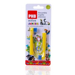 Phb Cepillo Electrico Active Junior Recambio 2 Cabezales