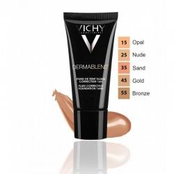 Vichy Dermablend Démaquillant Fond de teint 25 Nude 30 ml