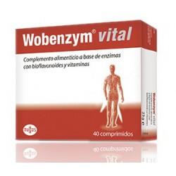 Wobenzym Vital 40 Tablets
