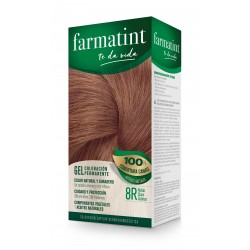 Farmatint 8R Blonde Claro Cobrizo