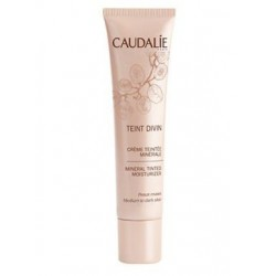 Caudalie Teint Divin Cream With Matte Leather Color