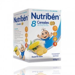 Nutriben 8 Cereals Maria Cookies 600 gr