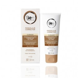 Be+ Make-up Fluid Corrector Ölfrei SPF20 Dunkle Haut 40 ml