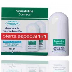 Somatoline Deodorant Roll On Duplo 40+40ml