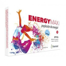 Homeosor Energy Max 20 Vials 15 ml