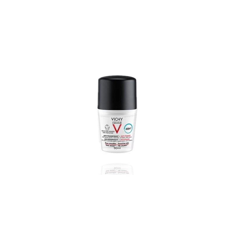 Vichy Homme Antitranspirante Antimanchas Hombre Roll On