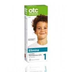 Otc Antipiojos Loción Permetrina 1.5% 125 ml + spray repelente  125 ml 50% descuento.