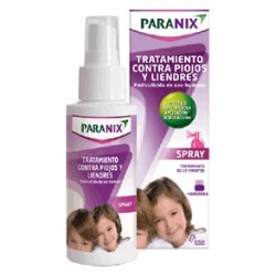 Paranix Treatment Lice and Nits Spray 100 ml + Lendrera