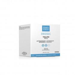 Martiderm Driosec Deodorant Wipes 15 units