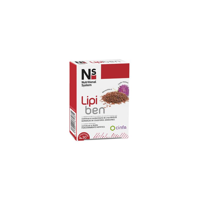 NS Cinfa Lipiben 30 comprimidos