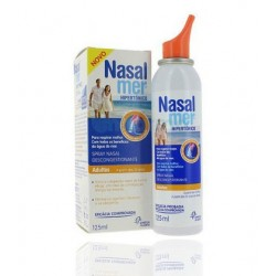 Nasalmer Hypertone Nasenlösung 1,5% Mildes Spray 125 ml
