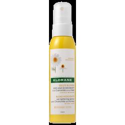 Klorane Lightening Sun Care con camomilla e miele 125 ml