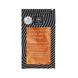 Apivita Shiny Hair Maske mit Orange und Honig 20 ml