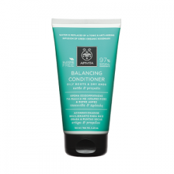 Apivita Balancing Conditioner - Grease Root and Dry Tips 150 ml