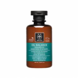 Apivita Oily Hair Balancing Shampoo with Mint and Propolis 250 ml