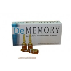 De Memory 20 Drinkable Ampoules 5 ml