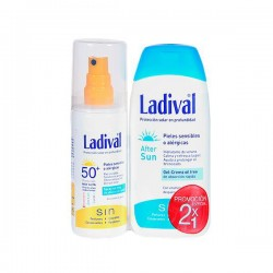 Ladival Duplo Sunscreen Spray SPF50 150 ml + After Sun 200 ml