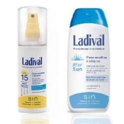 Ladival Duplo Sunscreen Spray SPF15 150 ml + After Sun 200 ml