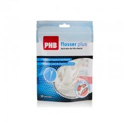 Phb Flosser Aplicador Hilo Dental 10 unidades.