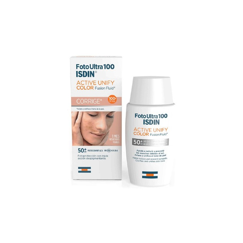 Isdin Fotoultra Active Unify Fusion Fluid Color spf 100+ 50 ml