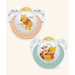 Nuk Latex Winnie The Pooh es Trendline Chupete 6-18m