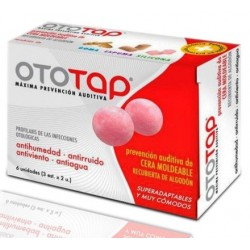 Ototap Earplugs Wax 6 Units