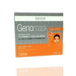 Genomask Mascarilla Facial con Vitamina C 6x8ml