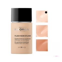 Filorga Flash-Nude Maquillaje Fluido Color 00 Ivory SPF30 30ml