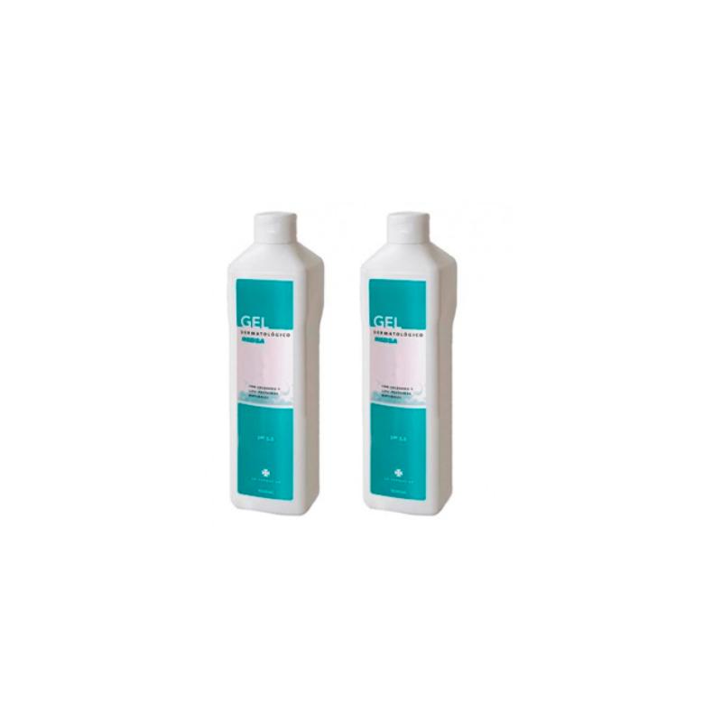 Inibsa Gel Dermatológico pack 2x1000ml + GRATIS gel 200 ml