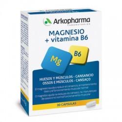 Arkovital Magnesium + Vitamin B6 30 Capsules