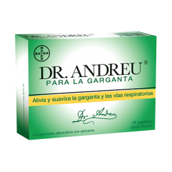 Dr Amdreu Para garganta 24 Pastillas