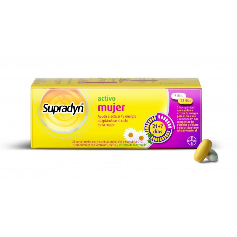 Supradyn activo mujer 28 comprimidos