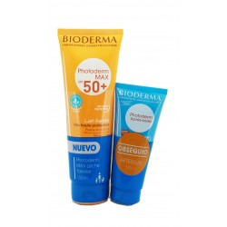 Bioderma Pack Photoderm Max SPF50 Milk 250ml + Free Aftersun 100ml